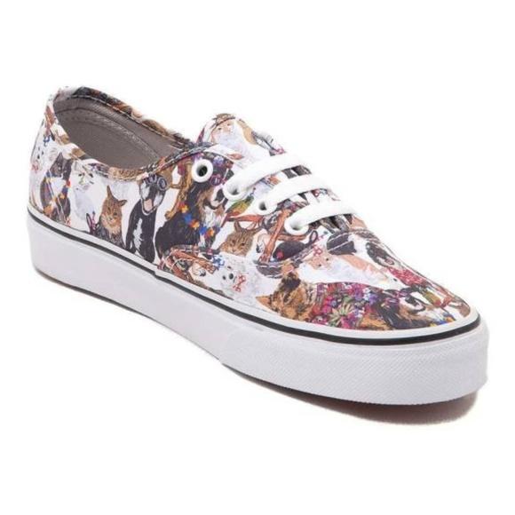 ecb0823a5f6d56 Vans Authentic ASPCA Party Animals Skate Shoe. M 5ba8588e04e33dc52053acd3